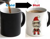 Little Big Planet Sack Boy Crossover Santa Claus Color Changing Ceramic Coffee Mug CUP 11oz