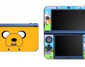 ADVENTURE TIME JAKE NEW Nintendo 3DS XL LL Vinyl Skin Decal Sticker