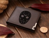 Friday the 13th JASON MASK Leather Wallet #2