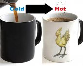 FINAL FANTASY  Chocobo Color Changing Ceramic Coffee Mug CUP 11oz