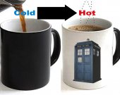 Doctor Who Tardis Color Changing Ceramic Coffee Mug CUP 11oz