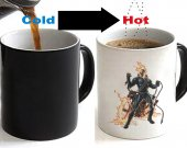 Ghost Rider Color Changing Ceramic Coffee Mug CUP 11oz