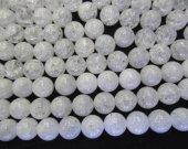 AA grade 4-16mm genuine white quartz beads round ball clear crystal gergous jewelry beads