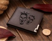 TWIZTID FACES Leather Wallet