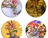 Chrono Trigger Set Of 4 Wood Drink Coasters