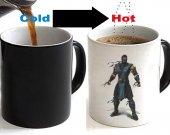 Mortal Kombat Subzero Color Changing Ceramic Coffee Mug CUP 11oz
