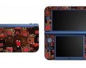Domo NEW Nintendo 3DS XL LL Vinyl Skin Decal Sticker