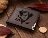 Anaheim Mighty Ducks NHL Hockey Leather Wallet