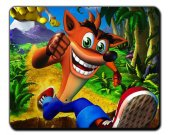 Crash Bandicoot MOUSEPAD Mouse Mat Pad