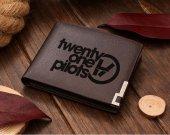 TWENTY ONE PILOTS Leather Wallet