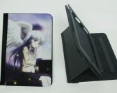 Angel Beats  Ipad Mini 1 /2 / 3 Protective Fold Leather Smart Cover case