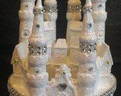 Wedding Cake Topper Cinderella Castle Large