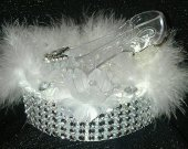 Wedding Cinderella Slipper Cake Topper