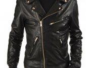 Men's Designer Biker Leather Jacket