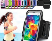 """Df Slim Trendy 5.7"""" Sport Armband For Samsung Galaxy Note 4/Note Edge A(Assorted Color)^"""
