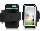 Protective Sports Armband For Samsung Galaxy S4/I9500 (Black) New^