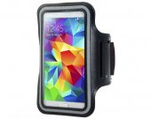 New Outdoor Armband For Samsung Galaxy S5 I9600 (Black)^
