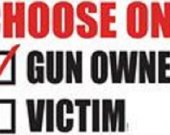 Choose One  Gun Owner or Victim T shirt.Size SM-6XL.Many Colors..