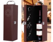 Star Wars Imperial PU Leather Wine Case Box with accessories
