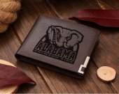 Alabama Crimson Tide Football Leather Wallet