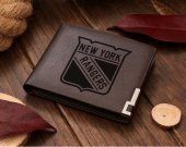 New York Rangers Leather Wallet