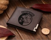 Metal Gear Solid Peace Walker  Militaires Sans Frontieres Leather Wallet