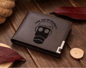 Doctor Who Are you My Mummy Leather Wallet