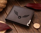 Golden Snitch Harry Potter Leather Wallet