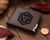 Ingress Symbol Leather Wallet