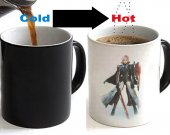 Final Fantasy 13 XIII Lightning Returns Color Changing Ceramic Coffee Mug CUP 11oz
