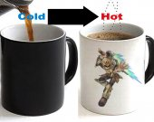 Kid Icarus Uprising Color Changing Ceramic Coffee Mug CUP 11oz