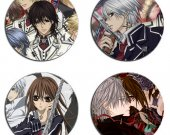Vampire Knight Set Of 4 Wood Drink Coasters
