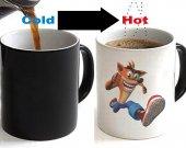 Crash Bandicoot Color Changing Ceramic Coffee Mug CUP 11oz