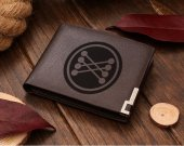 Back To The Future Mr Fusion Logo Leather Wallet