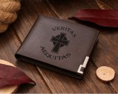 Boondock Saints Veritas Aequitas Leather Wallet