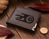 Motorcity Burners Logo Leather Wallet