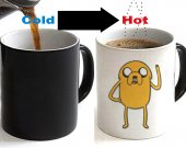 ADVENTURE TIME JAKE Color Changing Ceramic Coffee Mug CUP 11oz