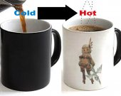 Bravely Second Color Changing Ceramic Coffee Mug CUP 11oz