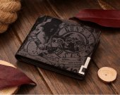 Guns N' Roses Slash Rock Leather Wallet