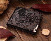 Guns N' Roses Slash Rock Leather Wallet