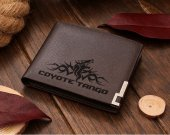 Pacific Rim Coyote Tango Leather Wallet