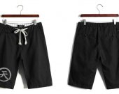 Street Fighter Akuma Casual Cotton Black Shorts