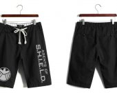 Agents of SHIELD Casual Cotton Black Shorts