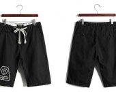 Avatar The Last Airbender Earth Kingdom Casual Cotton Black Shorts