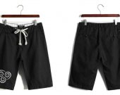 Avatar The Last Airbender Air Nomad Casual Cotton Black Shorts