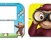 Curious George Nintendo 2DS Vinyl Skin Decal Sticker