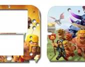 Clash Of Clans Nintendo 2DS Vinyl Skin Decal Sticker