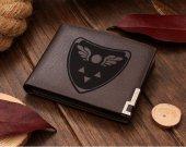Undertale Delta Rune Leather Wallet