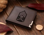 Venture Brothers Sergeant Hatred Logo Leather Wallet