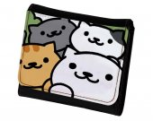 Neko Atsume PU Leather Wallet